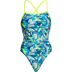 Funkita Strapped In One Piece Badeanzug Damen concordia